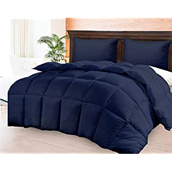 Amazon Com Cgk Unlimited Navy Blue Comforter Duvet Insert
