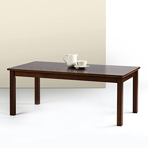 Coffee Table Traditional Cherry - Zinus Jamie Espresso Wood Coffee Table