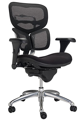 WorkPro Commercial Mesh Back Executive Chair, Black