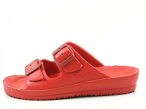 Rouge Rohde 7101 Spiaggia Femme Mules MKPIyKr