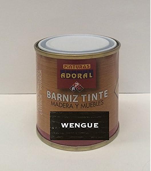 Adoral - Barniz Tinte Sintético Brillante 750 ml madera y ...