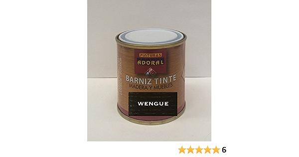 Adoral - Barniz Tinte Sintético Brillante 750 ml madera y muebles (Wengué)