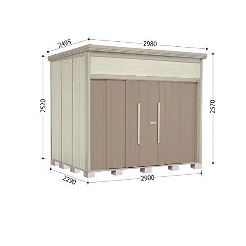 タクボ物置 JN/トールマン JN-2922 一般型 標準屋根 『屋外用中型大型物置』 カーボンブラウン B00ADLAK74