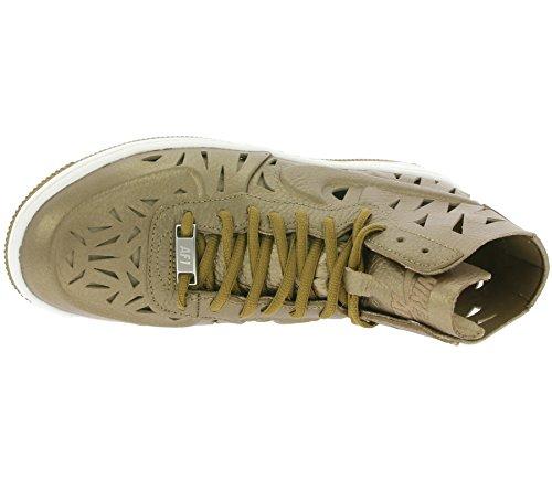 Nike W Af1 Ultra Force Mid Joli, Zapatillas de Deporte para Mujer Dorado (Mtlc Gldn Tn / Mtlc Gldn Tn-Gldn)