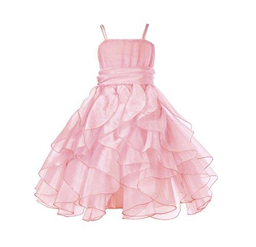 organza pink dress - 6