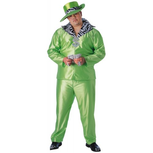 Big Daddy Costume - Plus Size - Chest Size (Big Daddy Adult Pimp Costumes)