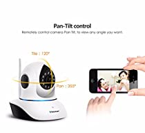 Cdycam 720 P HD Wifi IP Camera Indoor Dome Infrared Wireless Surveillance ONVIF Support 64GB Micro SD Card Recording with Night Vision Two Way Audio