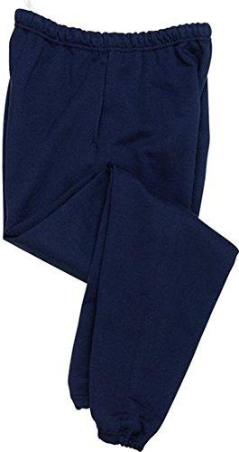 Joe's USA tm - Mens Super Sweatpants with Pockets-Navy-L