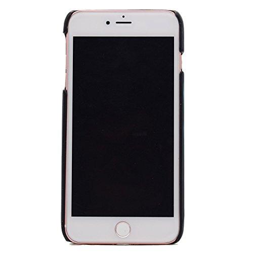para iPhone 7 Caja del Teléfono del Sensor Térmico, para iPhone 8 Calor Inducción Cambio de color de la Cubierta, Vandot Ultrafino a prueba de choque PC Duro Sensible al Calor Protector de la Espalda  Discolor Blue
