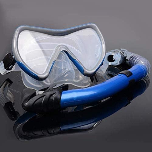 ダイビングゴーグル、スイミングスポーツ用品ゴーグル呼吸チューブセット子供大人水泳水中シュノーケリングダイビング機器マスク