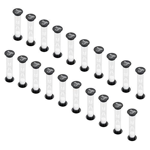 (Dsmile Sand Timer, 30 Seconds Plastic Hourglass Timer Set of 20)