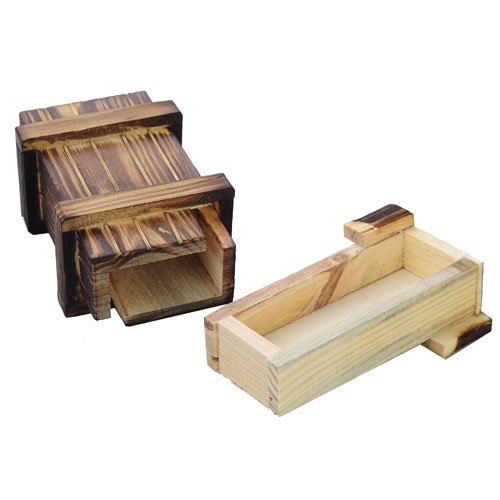 HOODDEAL Puzzle Wooden Compartment Intelligence