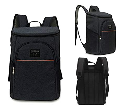 ManKindLn Insulated Cooler Backpack Soft Cooler Lightweight Backpack with Cooler for Lunches Picnics Hiking Beach Park or Day Trips