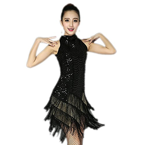 Great Gatsby Flapper Girl Bachelorette Party Bridesmaid Dance Dresses Costume]()