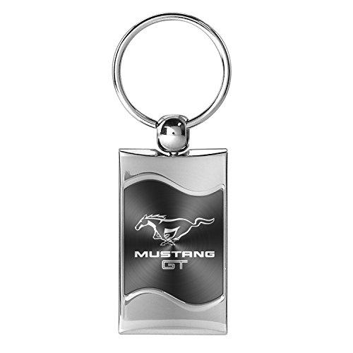 Ford Mustang Logo Gris-cl/és en m/étal repouss/é