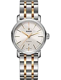 Rado R14050103 Diamaster Two-Tone Automatic Mens Watch - Silver Dial by Rado