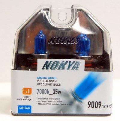 - Nokya Arctic White H16 / 9009 / 5202 Car Headlight Bulb (S1) NOK7489 .