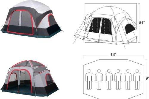 Gigatent-Katahdin-Cabin-Dome-Tent  sc 1 st  Discount Tents Sale & Gigatent Katahdin Cabin Dome Tent