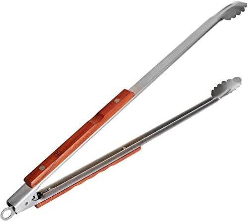 Outset QB22 Rosewood ExtraLong Locking Tongs 22