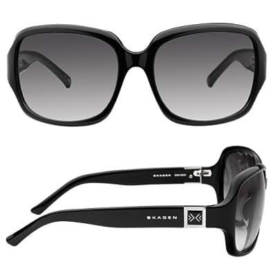 Skagen Black Acetate- Square Sunglasses