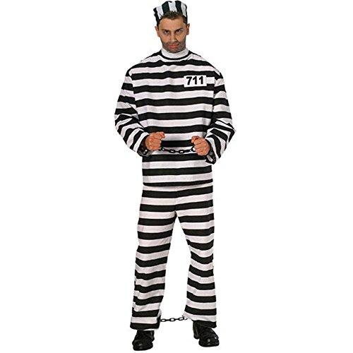 Rubies Deluxe Prisoner Man Costume