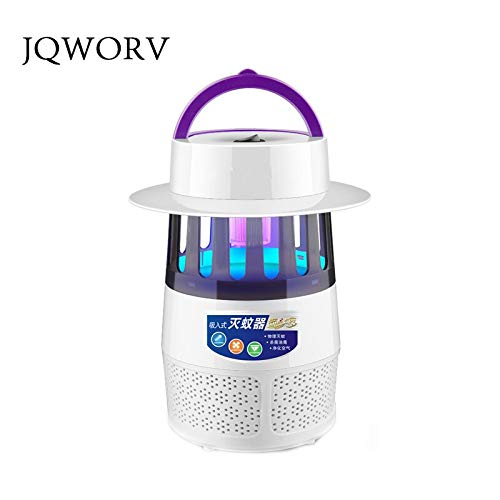 JQWORVusb Electronics Mosquito Killer Trap Moth Fly Wasp Led Night Lamp Bug Insect Light Killing Pest Zapper for Outdoor Bedroom