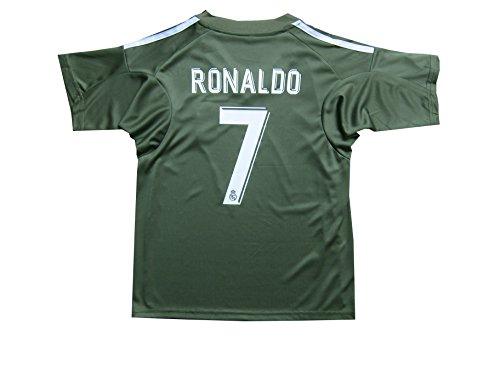 53035d36f GamesDur 2017 2018 Real Madrid RONALDO  7 BLUE Soccer Kids Jersey ...