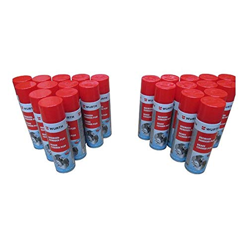 wurth brake cleaner plus 500 ml x 24