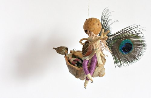 Lullaby Accents (Dancing Seeds Mobiles The Lullaby Fairy Waldorf Inspired Eco-Friendly Mobile)