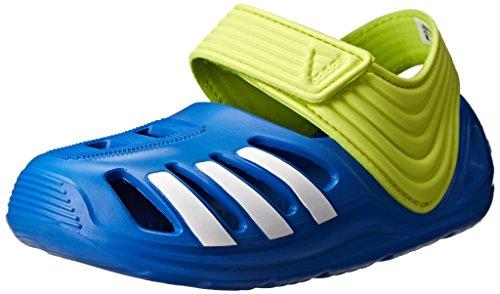 adidas Performance Zsandal I Clog Sandal (Infant/Toddler), Bright Royal/White, 6.5 M US Toddler