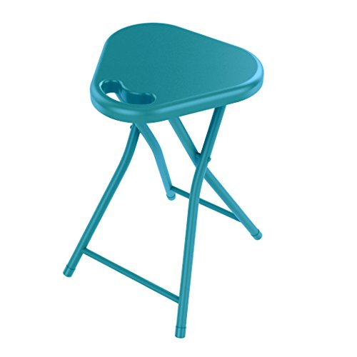 dar Living Folding Stool with Handle, Capri Breeze (4-Pack) by dar Living