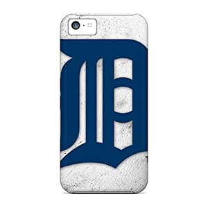 Excellent Hard Phone Cases For Iphone 5c With Customized Trendy Detroit Tigers Skin CharlesPoirier