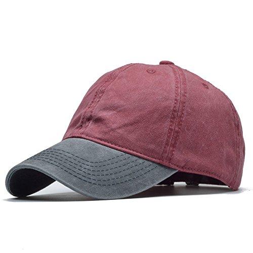 Meaeo Lavado Sólidos De Alta Calidad Gorra De Béisbol Hombres Y Mujeres Hat 100% Algodón Gorras Para Hombre Tapas Montadas Snapback Hat