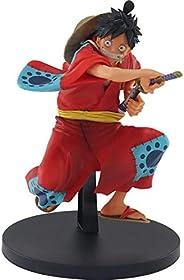 Figure One Piece King of Artist the Monkey D Luffy Wanokuni Ref.20388/20389, BANDAI BANPRESTO