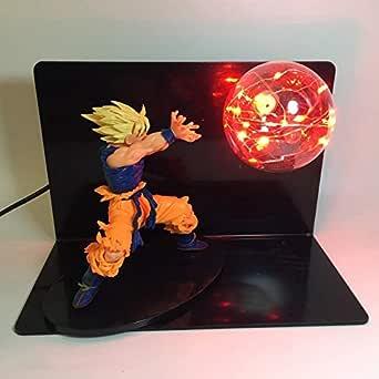 Dragon Ball Figuras,Dragon Ball Z Lámpara Goku Modelo De