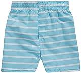 Sweet & Soft Boys UPF 50+ Boys Short Sleeve 4 Piece Rash Guard & Trunk Swimsuit Set