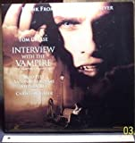 Interview With The Vampire Laser Disc