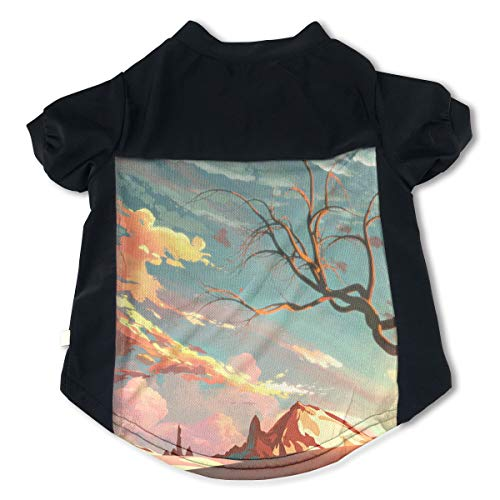 Fbve5dg Cosy Painting Pet Tees for Dog Puss -