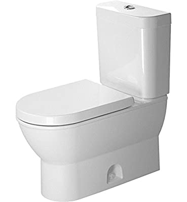 Duravit 2126010000 Darling Two-Piece Toilet, White