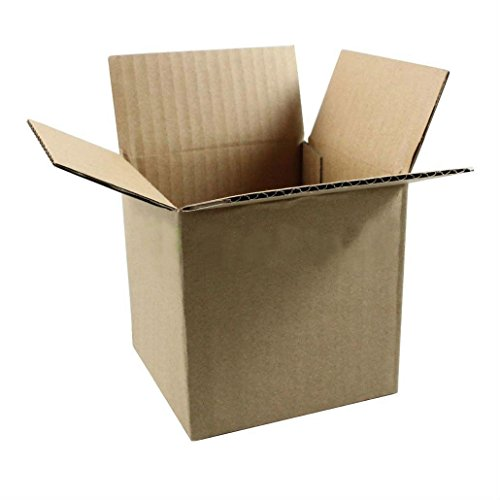 50 8x8x8 Cardboard Packing Mailing Moving Shipping Boxes Corrugated Box Cartons from Unknown