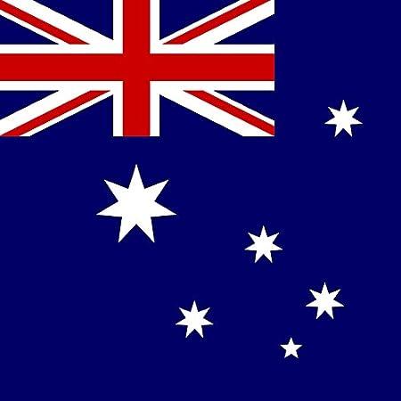 designersgroup Magnet Frigo avec Drapeau National Australien 5 x 5 cm Aimant pour Les Amis dAustralie