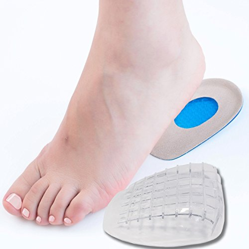 DR JK- Heel Cups and Heel Grips Kit, Heel Pads for women and Men, Heel Inserts, Plantar Fasciitis Inserts, Heel Spur, Foot Pads, Heel Support, Heel Care for Foot Pain Relief.