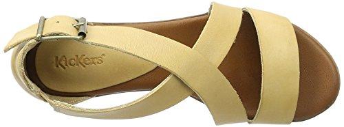 Kickers Voltax - Sandalias Mujer beige (beige)