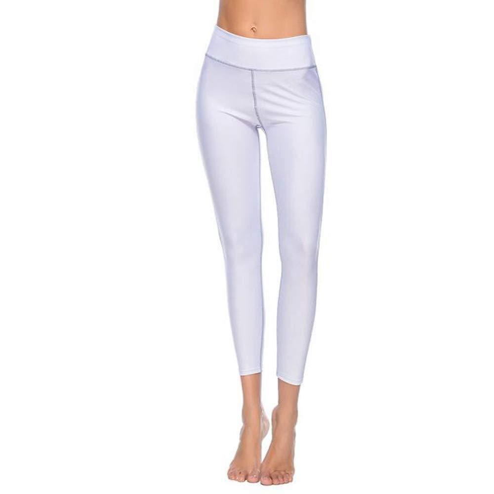 Kinlene Femmes Taille Haute Sport Gym Yoga Course à Pied Fitness Jambières  Pantalon Pantalon de Sport Leggings ... a7c5dced6b9