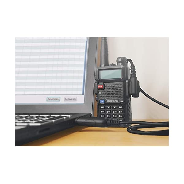 CABLE DE PROGRAMACIÓN USB TENWAY.  Baofeng Win 7/10, 64 bits para Baofeng Radio UV-5R, BF-888S, H-777 con CD de controladores