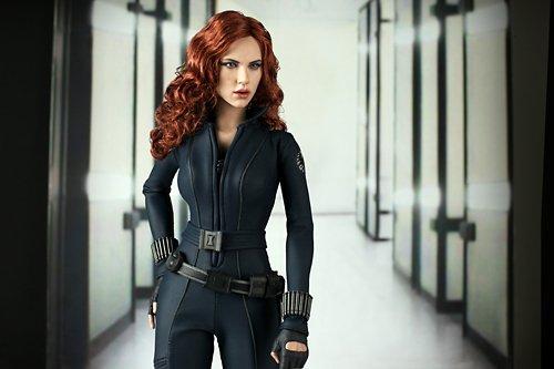 Hot Toys Movie Masterpiece Iron Man 2 1/6 scale figure Black Widow