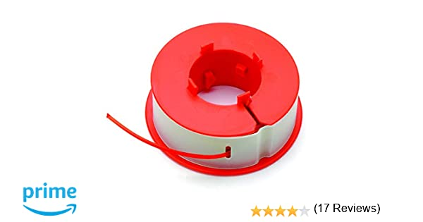 Bosch F016800175 Bobina de Hilo, Naranja, Blanco, Amarillo, 8mx1.6mm: Amazon.es: Bricolaje y herramientas