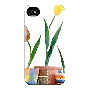 SashaankLobo Snap On Hard Cases Covers Tulip Flowers 04 Protector For Iphone 6
