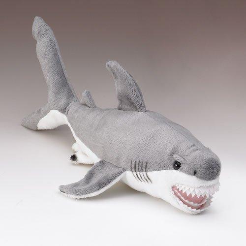 Wildlife Artists Great White Shark Plush Stuffed Toy, Small
