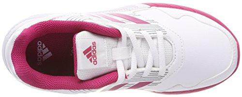 Unisex 000 grimed ftwbla Adidas De rosfue Zapatillas Blanco Deporte K Niños Altarun UqwAPXxp